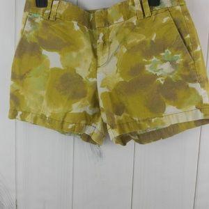Ann Taylor LOFT Womens Flat Front Linen Cotton
